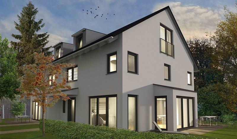 Linden11 Doppelhaus Visualisierung