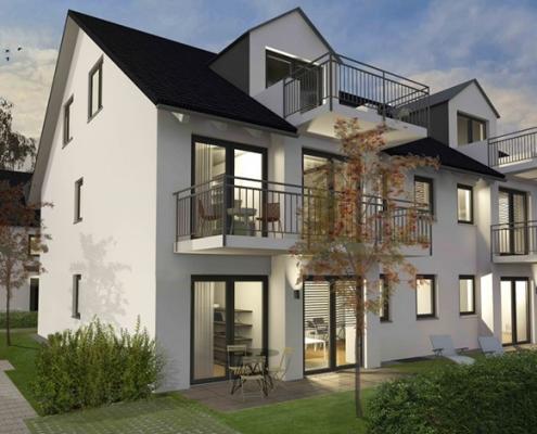 Linden11 Mehrfamilienhaus Visualisierung 2