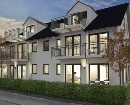 Linden11 Mehrfamilienhaus Visualisierung 1